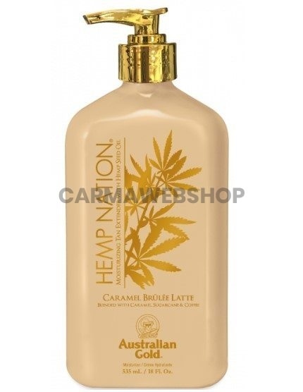 Australian Gold Hemp Nation Caramel Brulee Latte Body Lotion™