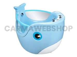 Baby Whale Spa - Blauw & Wit