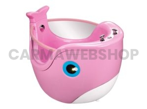 Baby Whale Spa - Roze & Wit