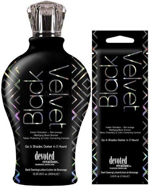 Devoted Creations DC Collection Black Velvet + GRATIS AFTERSUN