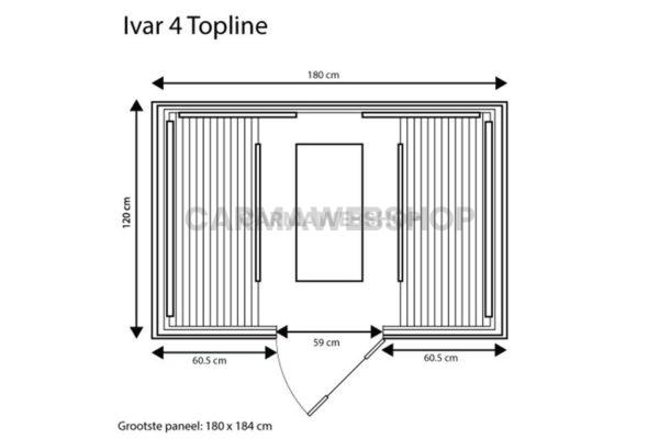 Ivar 4 Carbon – Topline 175 X 120 X 190CM